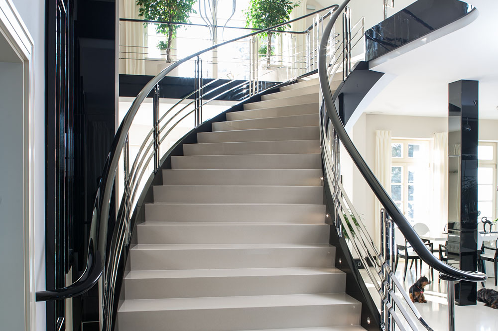 Curved Staircase Images Stairs Etc
