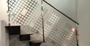 Designer laser cut balustrade382