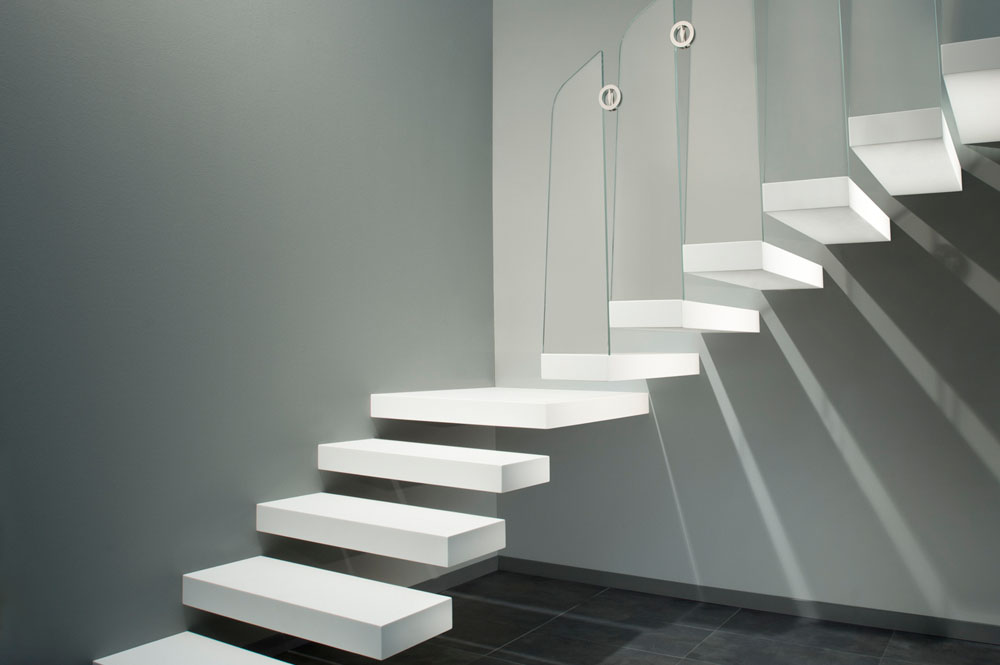 Floating staircases Cantilevered staircases Stairs etc