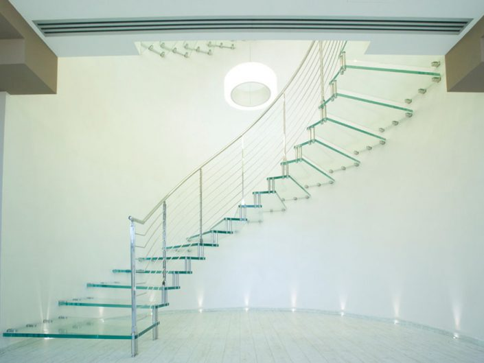 Floating staircases cantilevered stairs